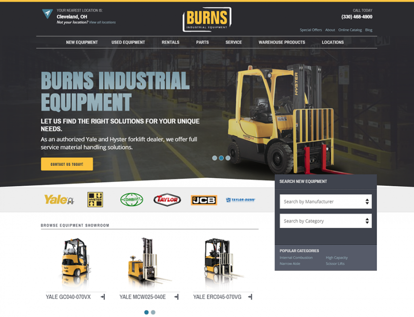 Burns Equipment